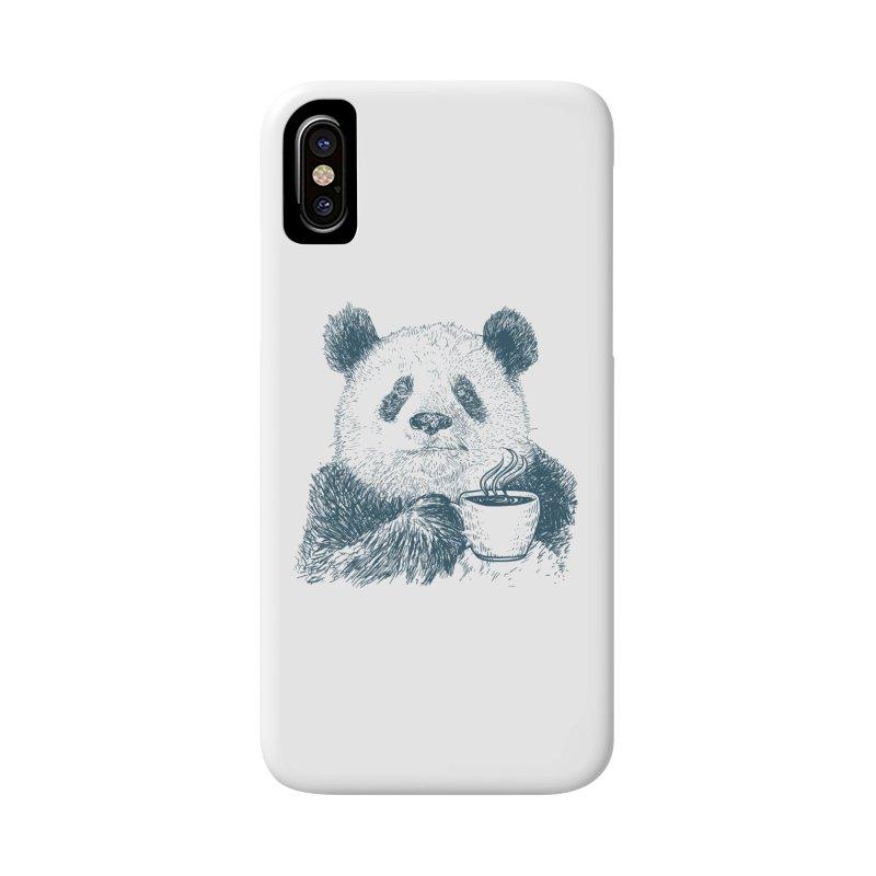 coffee panda Accessories Phone Case by gupikus's Artist Shop