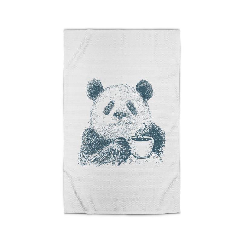 coffee panda Home Rug by gupikus's Artist Shop