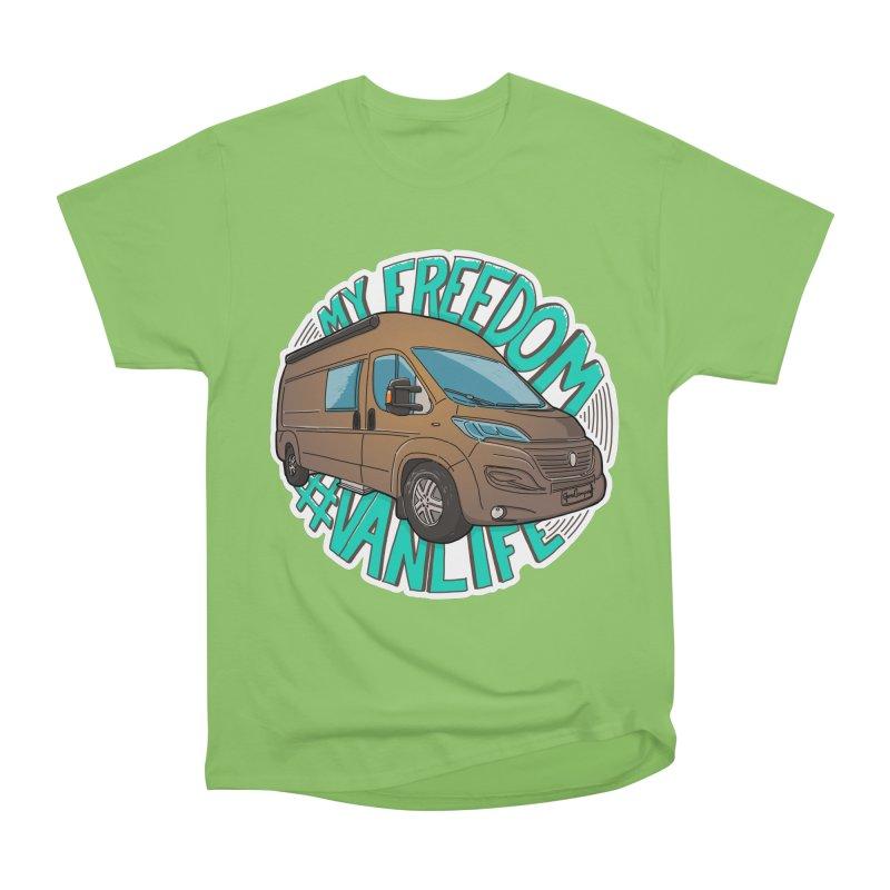 My Freedom Vanlife Women's T-Shirt by Illustrated GuruCamper