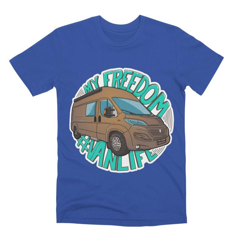 My Freedom Vanlife Men's Premium T-Shirt by Illustrated GuruCamper