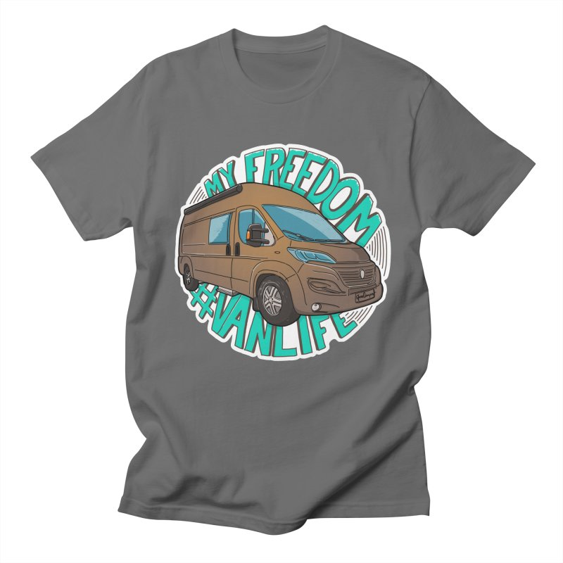 My Freedom Vanlife Men's T-Shirt by Illustrated GuruCamper