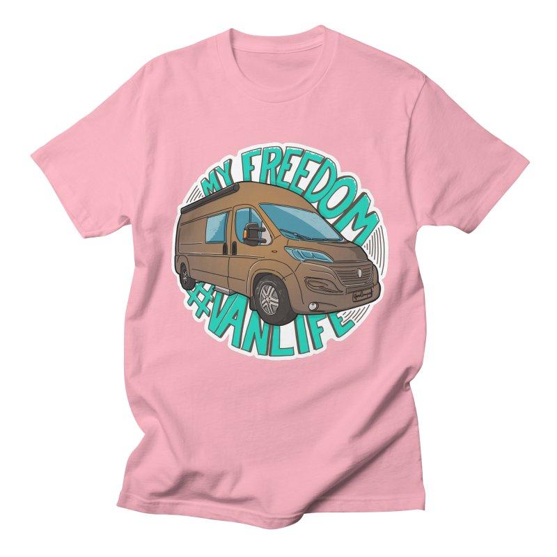 My Freedom Vanlife Women's Regular Unisex T-Shirt by Illustrated GuruCamper