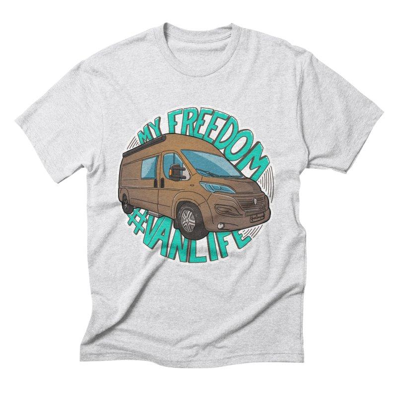 My Freedom Vanlife Men's Triblend T-Shirt by Illustrated GuruCamper