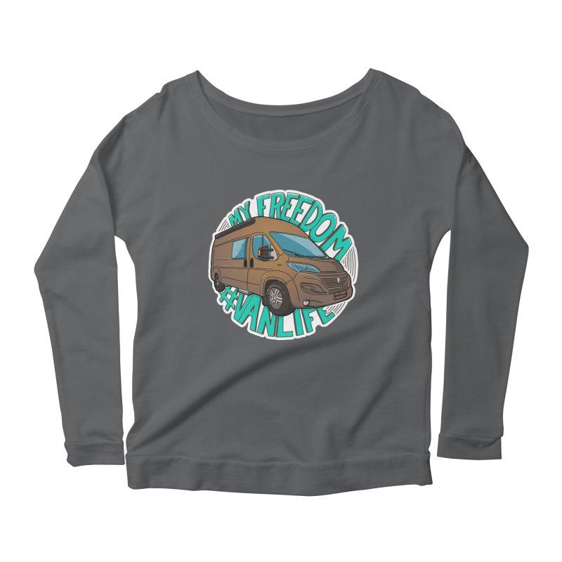 My Freedom Vanlife Women's Longsleeve T-Shirt by Illustrated GuruCamper