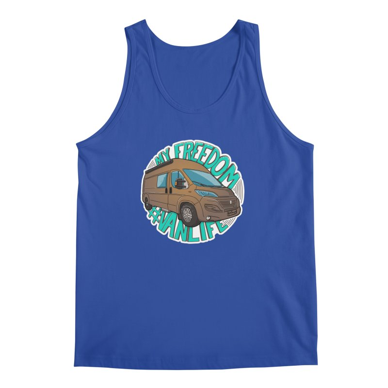 My Freedom Vanlife Men's Regular Tank by Illustrated GuruCamper