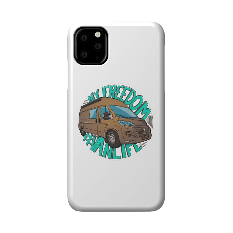 My Freedom Vanlife Accessories Phone Case by Illustrated GuruCamper