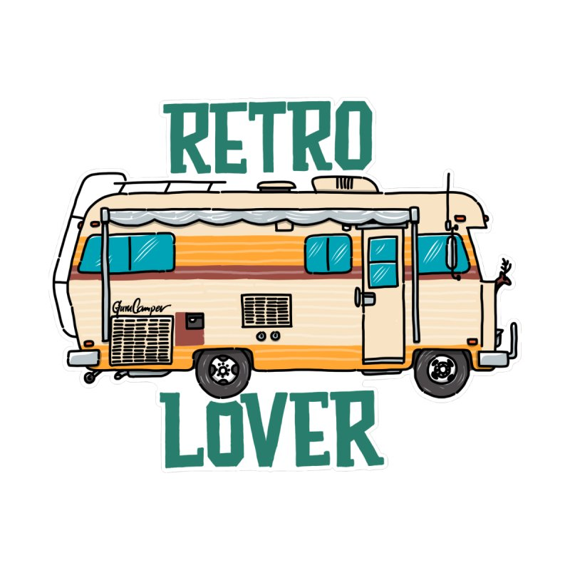 Commander Retro Lover by Illustrated GuruCamper