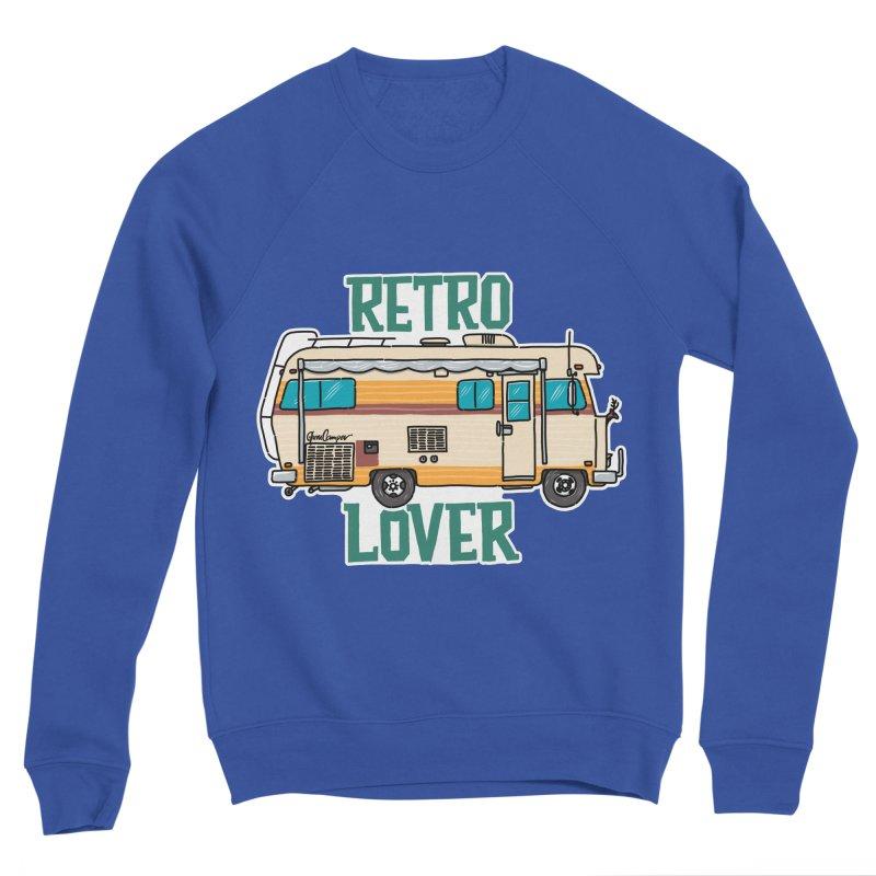 Commander Retro Lover Men's Sweatshirt by Illustrated GuruCamper