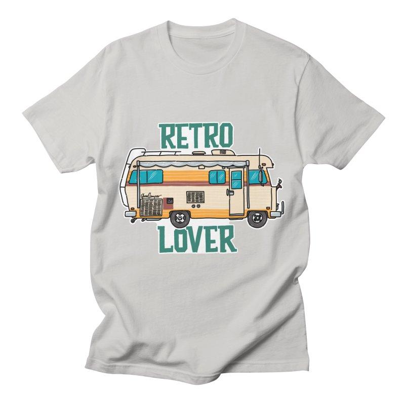 Commander Retro Lover Men's T-Shirt by Illustrated GuruCamper