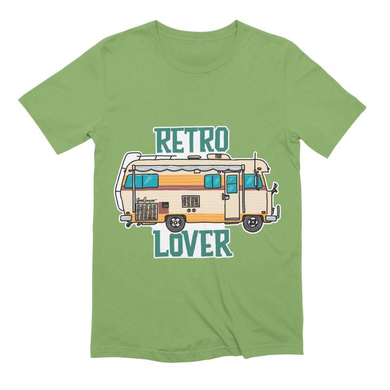 Commander Retro Lover Men's Extra Soft T-Shirt by Illustrated GuruCamper