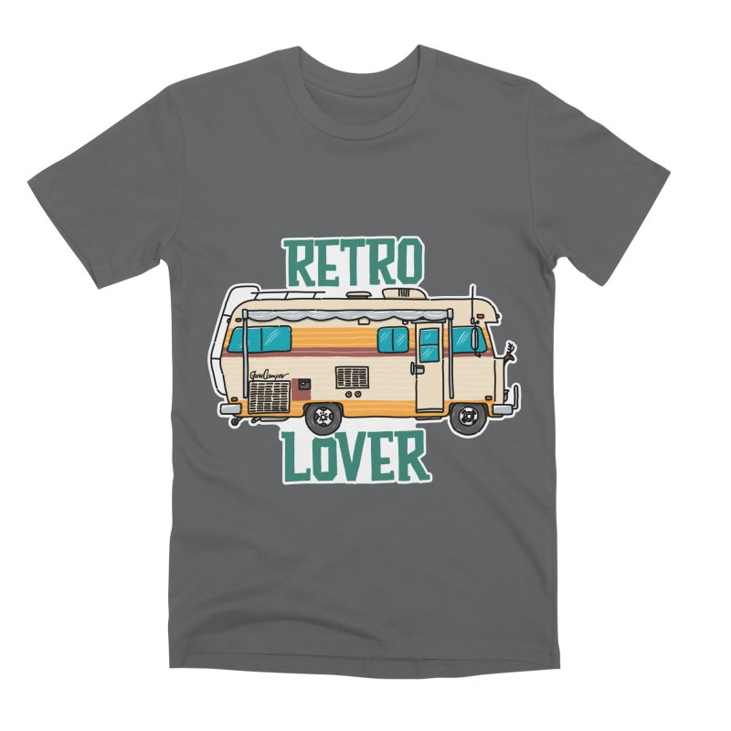 Commander Retro Lover Men's Premium T-Shirt by Illustrated GuruCamper