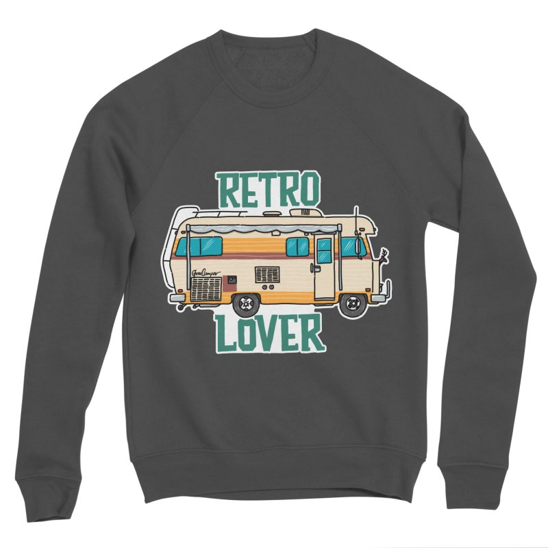 Commander Retro Lover Men's Sponge Fleece Sweatshirt by Illustrated GuruCamper