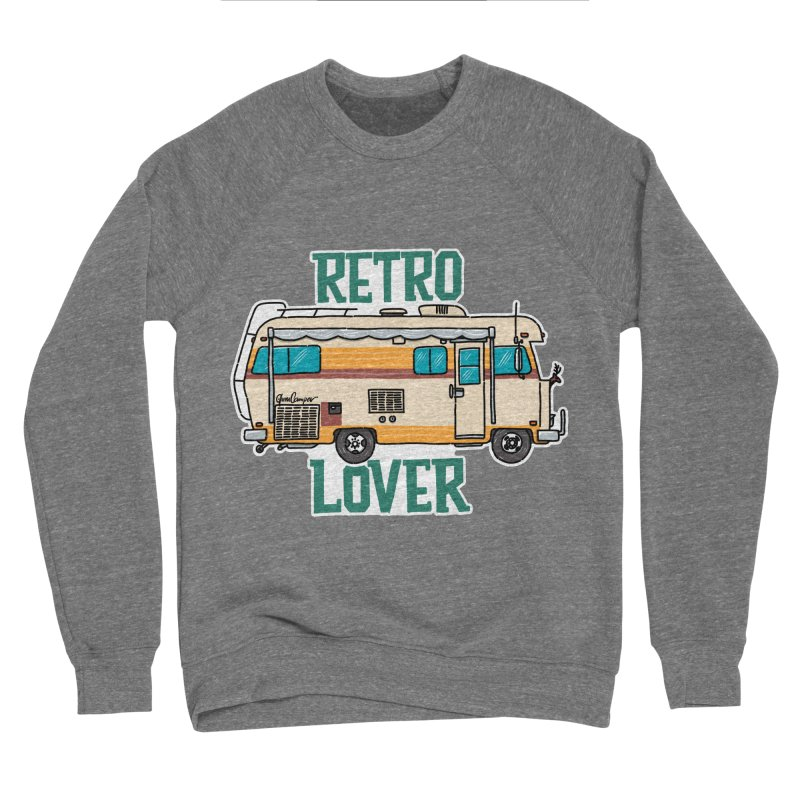 Commander Retro Lover Women's Sponge Fleece Sweatshirt by Illustrated GuruCamper