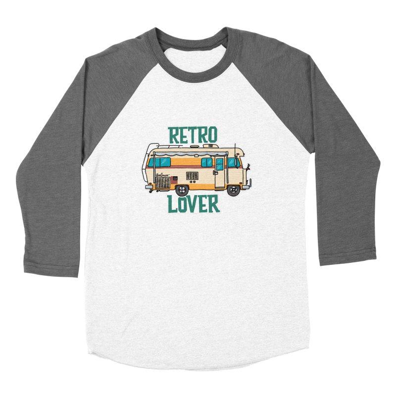 Commander Retro Lover Women's Longsleeve T-Shirt by Illustrated GuruCamper