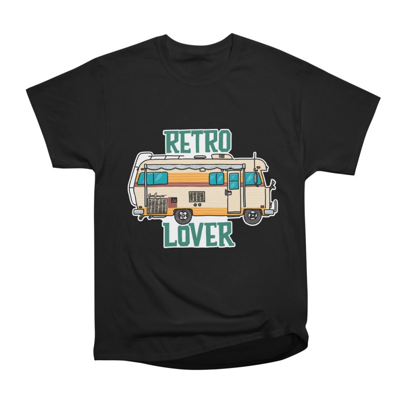 Commander Retro Lover Men's Heavyweight T-Shirt by Illustrated GuruCamper