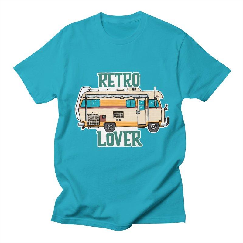 Commander Retro Lover Women's Regular Unisex T-Shirt by Illustrated GuruCamper