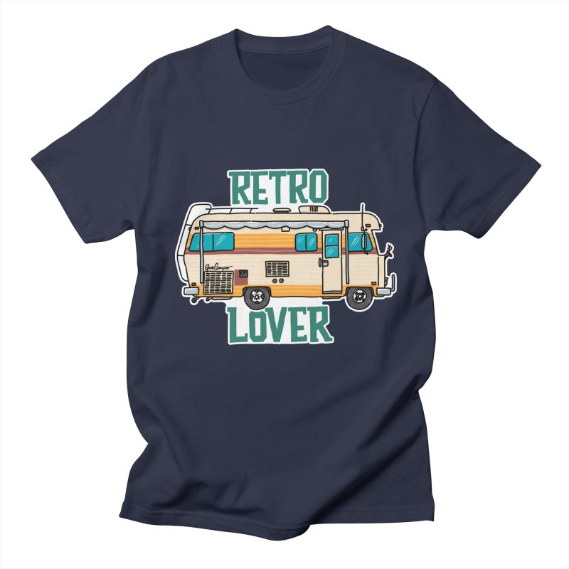 Commander Retro Lover Men's Regular T-Shirt by Illustrated GuruCamper