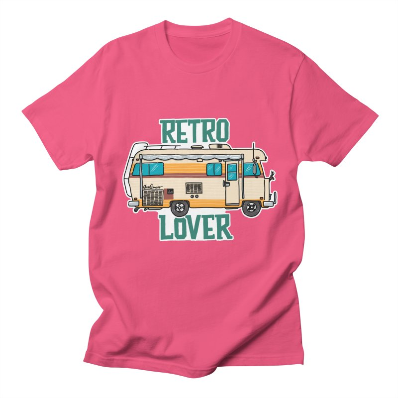 Commander Retro Lover Men's Regular T-Shirt by Illustrated GuruCamper