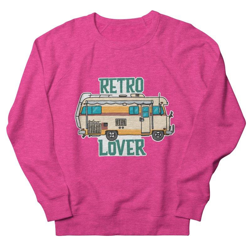 Commander Retro Lover Women's French Terry Sweatshirt by Illustrated GuruCamper