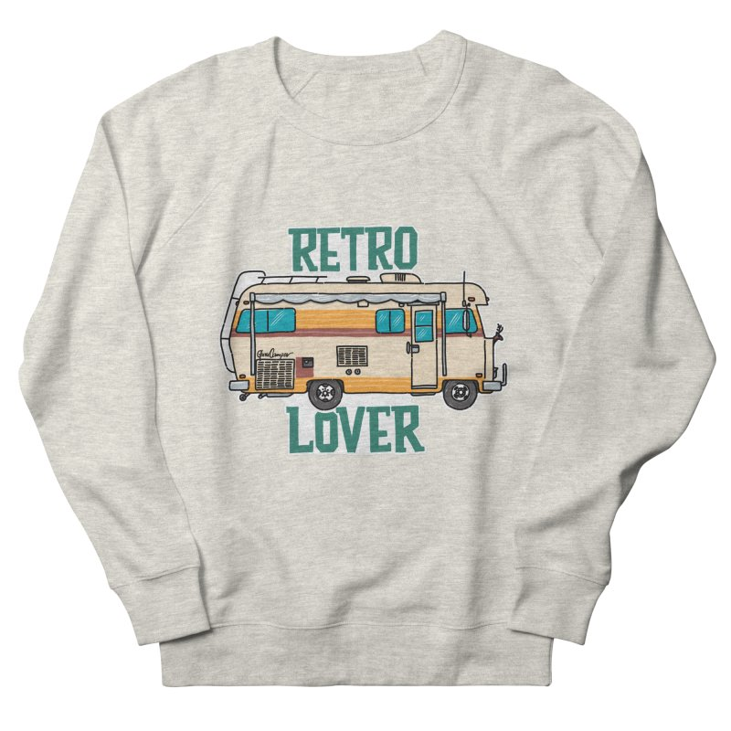 Commander Retro Lover Women's French Terry Sweatshirt by Illustrated GuruCamper