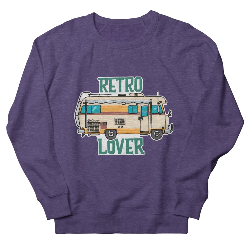 Commander Retro Lover Men's French Terry Sweatshirt by Illustrated GuruCamper