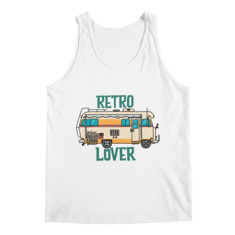 Commander Retro Lover Men's Regular Tank by Illustrated GuruCamper