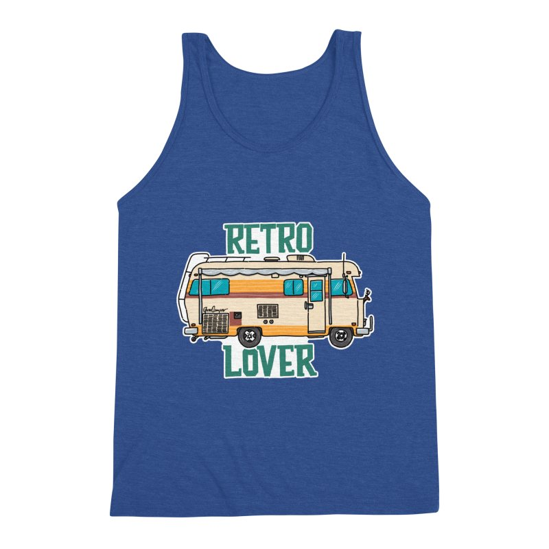 Commander Retro Lover Men's Tank by Illustrated GuruCamper
