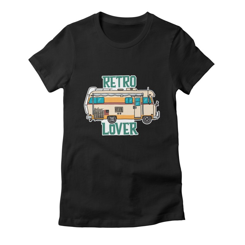 Commander Retro Lover Women's T-Shirt by Illustrated GuruCamper