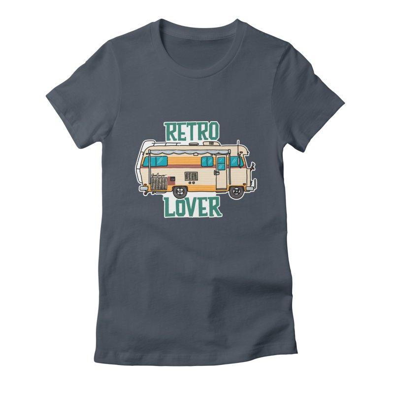 Commander Retro Lover Women's T-Shirt by Illustrated GuruCamper