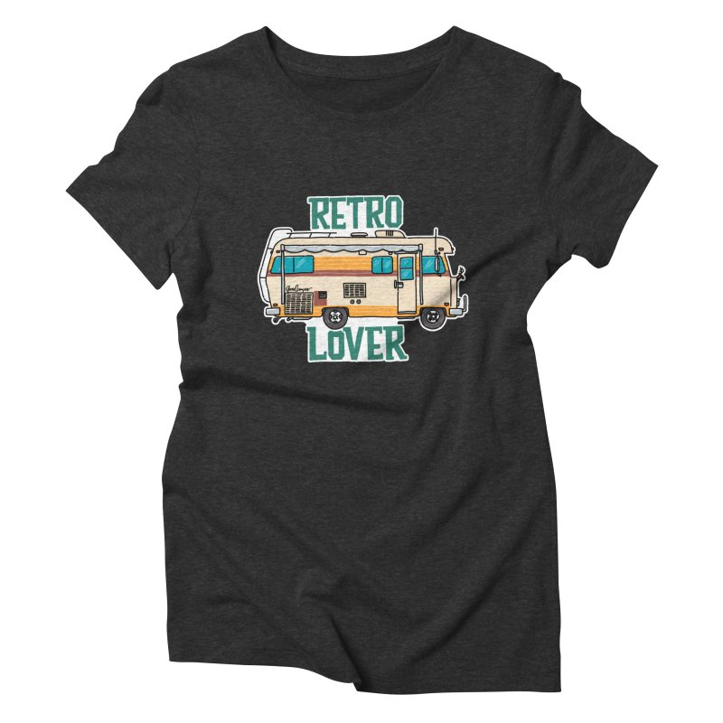 Commander Retro Lover Women's Triblend T-Shirt by Illustrated GuruCamper