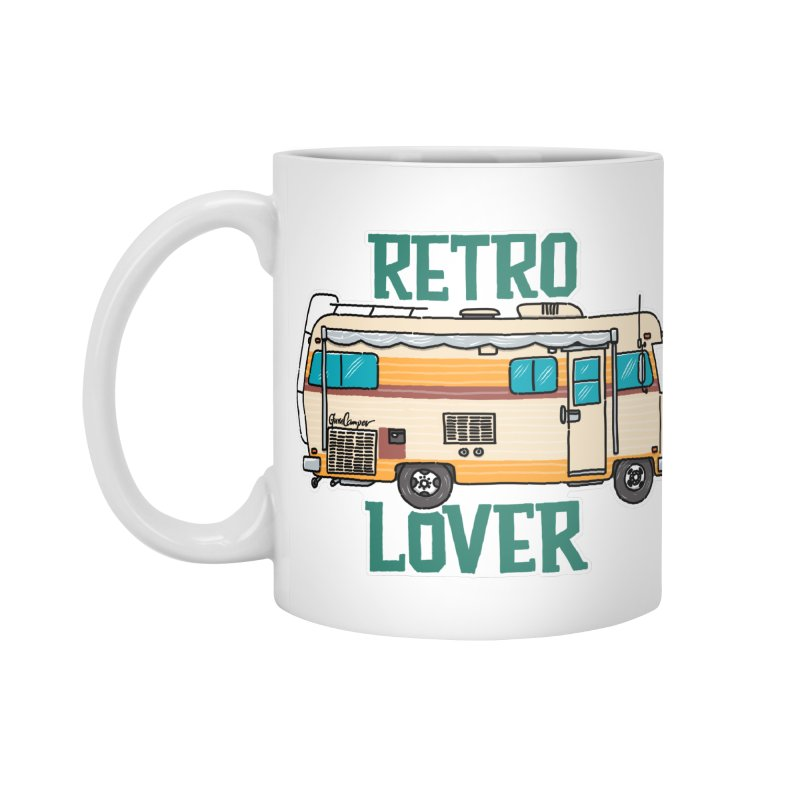 Commander Retro Lover Accessories Mug by Illustrated GuruCamper