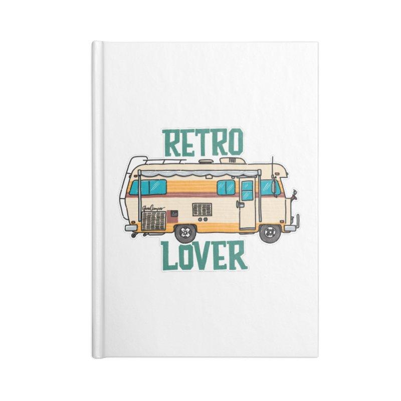 Commander Retro Lover Accessories Notebook by Illustrated GuruCamper