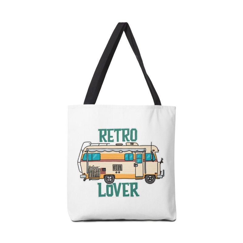 Commander Retro Lover Accessories Tote Bag Bag by Illustrated GuruCamper