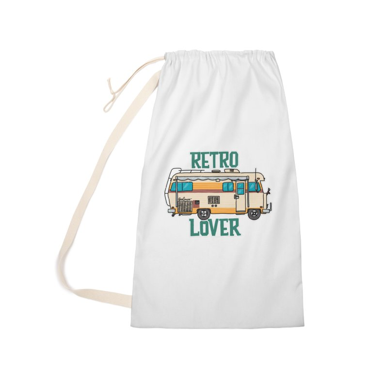 Commander Retro Lover Accessories Laundry Bag Bag by Illustrated GuruCamper