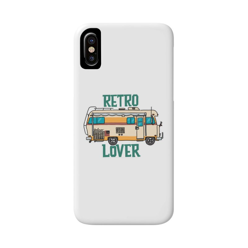 Commander Retro Lover Accessories Phone Case by Illustrated GuruCamper