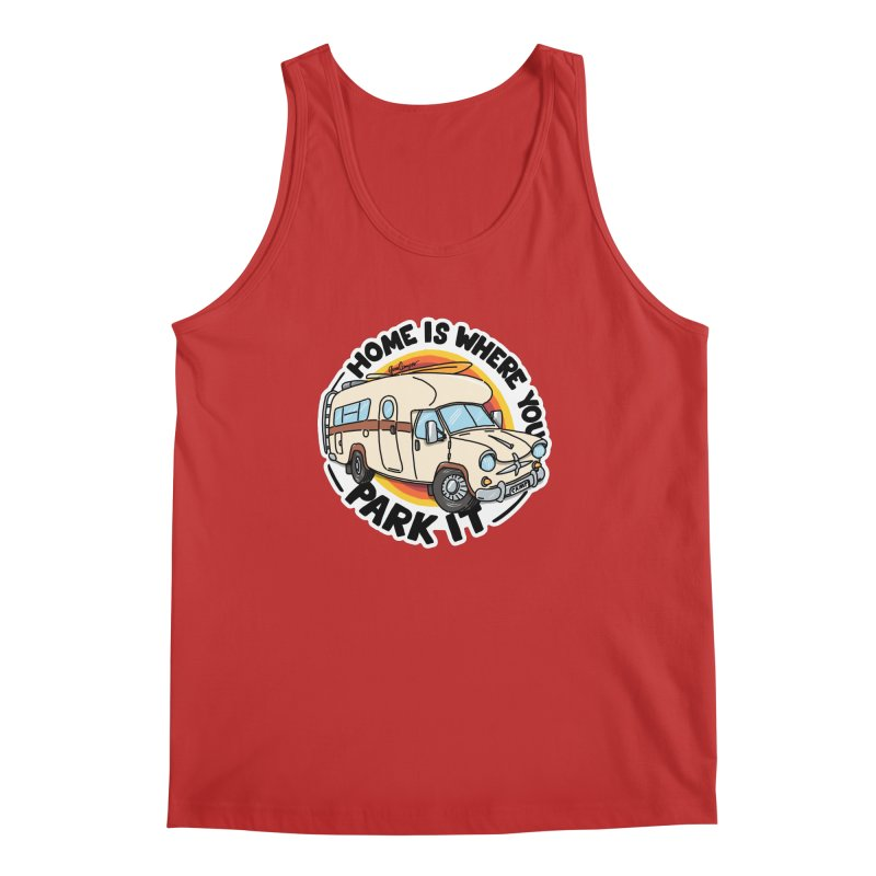 Home is Where You Park It Men's Regular Tank by Illustrated GuruCamper