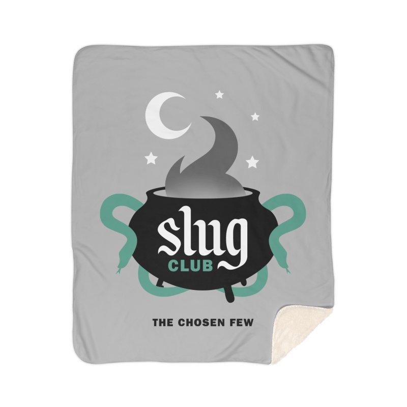 Slug Club Home Sherpa Blanket Blanket by Gurven Designs