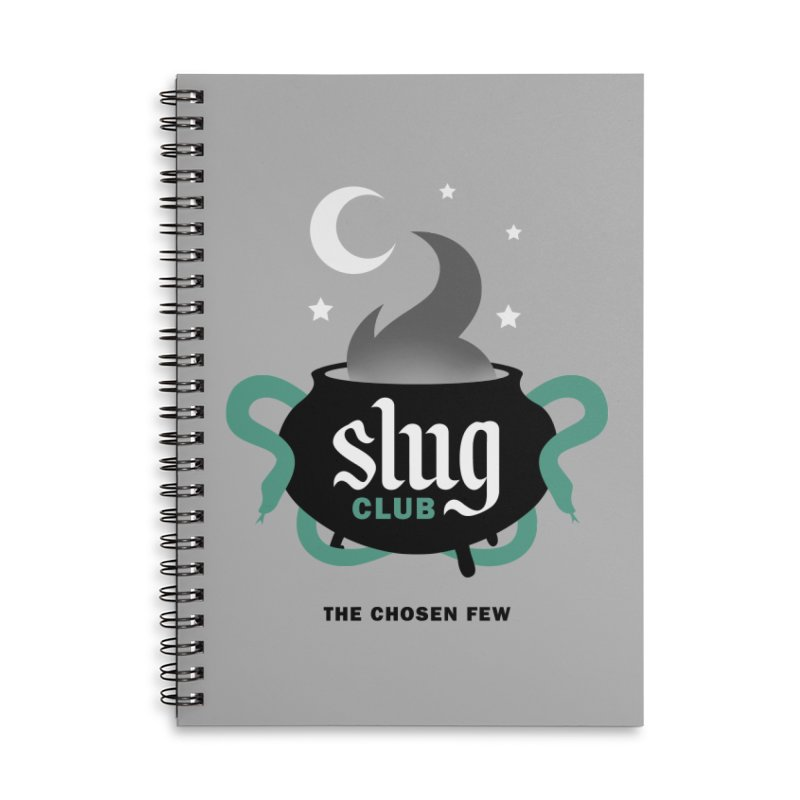 Slug Club Accessories Lined Spiral Notebook by Gurven Designs