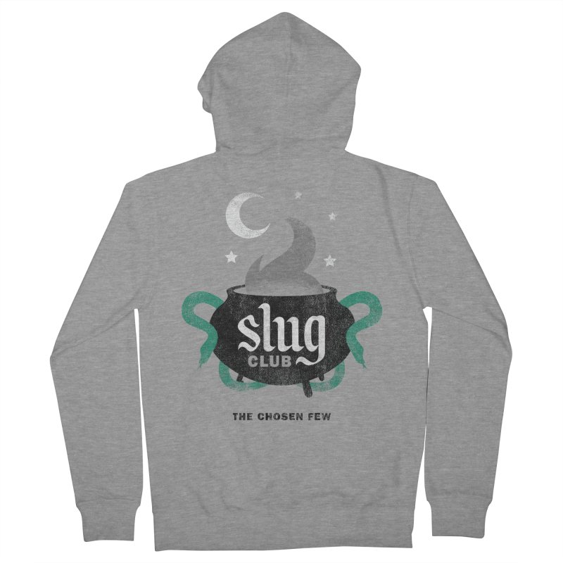 Slug Club Men's Zip-Up Hoody by Gurven Designs