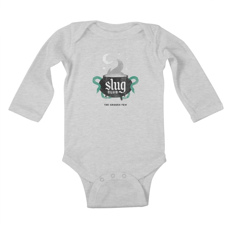Slug Club Kids Baby Longsleeve Bodysuit by Gurven Designs