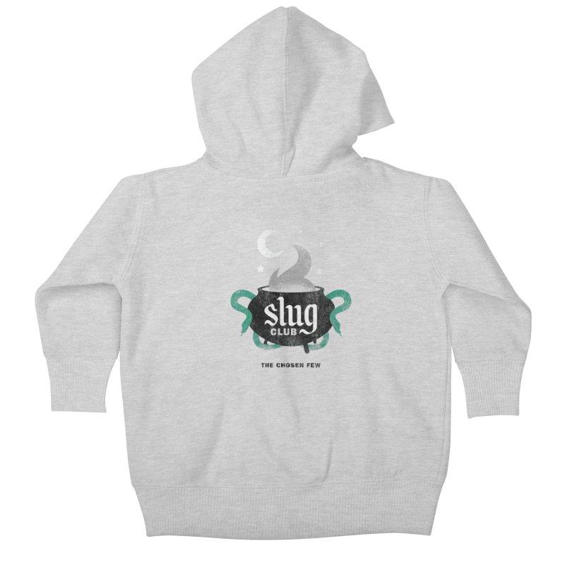 Slug Club Kids Baby Zip-Up Hoody by Gurven Designs