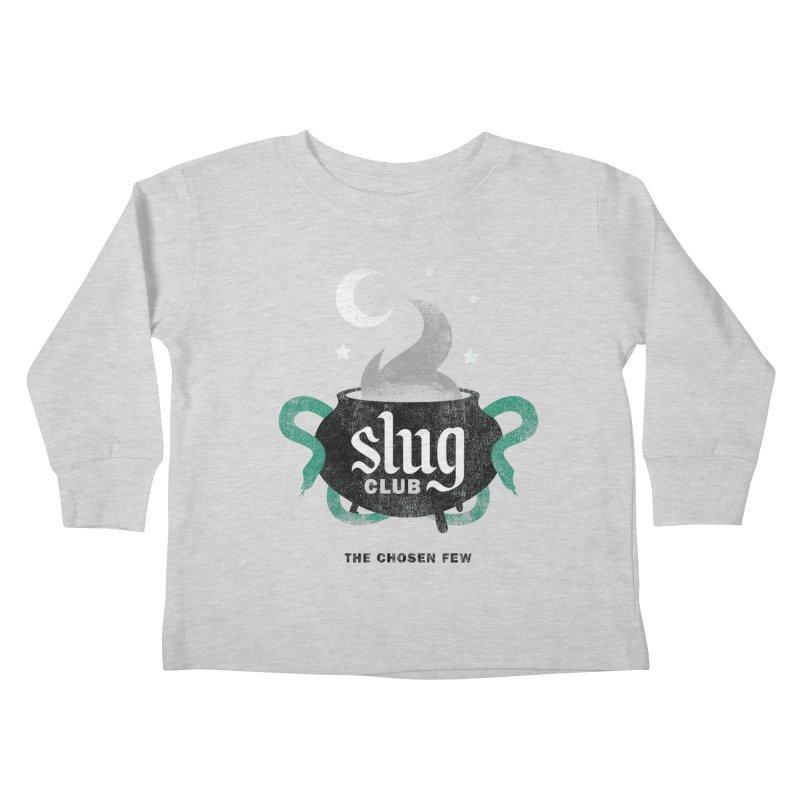 Slug Club Kids Toddler Longsleeve T-Shirt by Gurven Designs