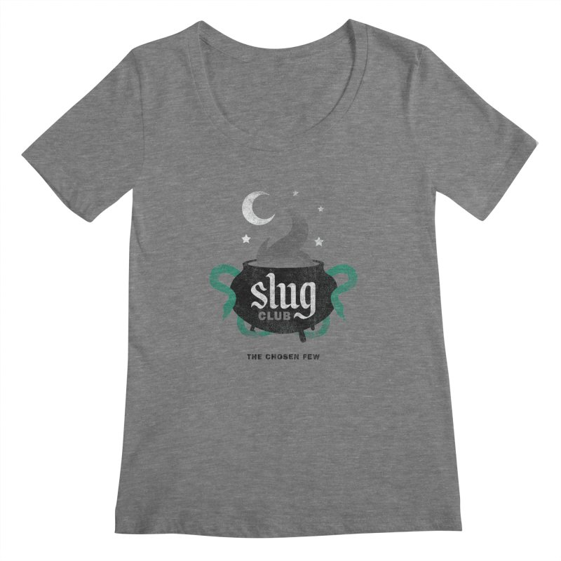 Slug Club Women's Scoopneck by Gurven Designs