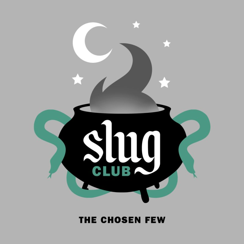 Slug Club Home Stretched Canvas by Gurven Designs