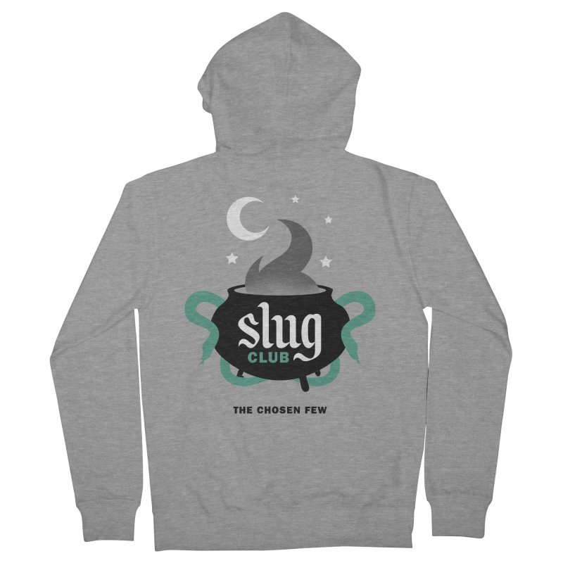 Slug Club Men's French Terry Zip-Up Hoody by Gurven Designs