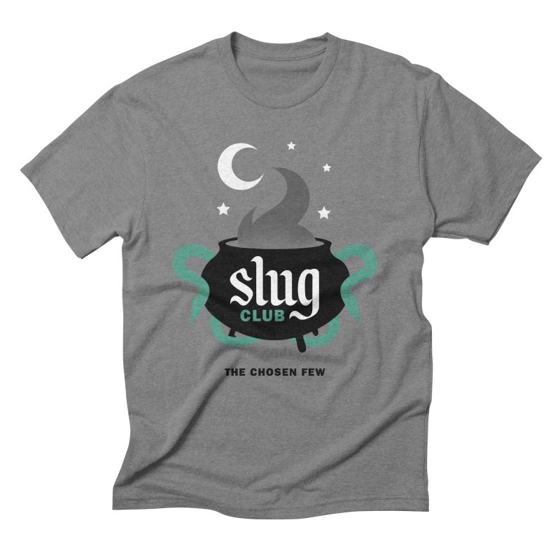 Slug Club Men's Triblend T-Shirt by Gurven Designs