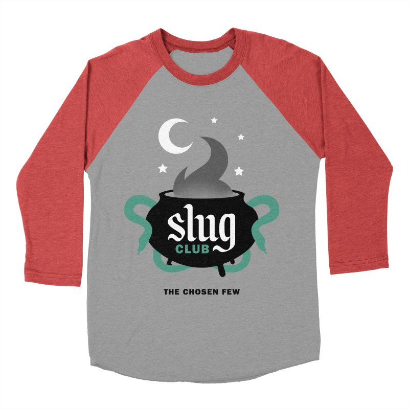 Slug Club Women's Baseball Triblend T-Shirt by Gurven Designs