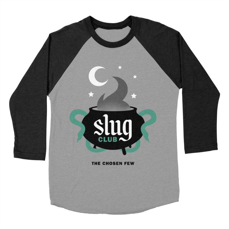 Slug Club Men's Baseball Triblend Longsleeve T-Shirt by Gurven Designs