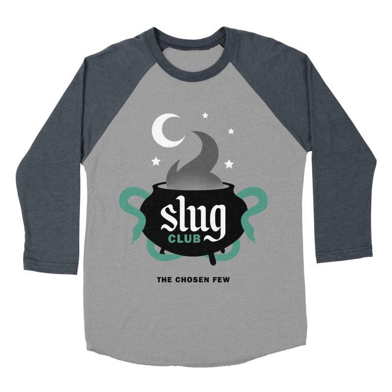 Slug Club Men's Baseball Triblend Longsleeve T-Shirt by Gurven Designs
