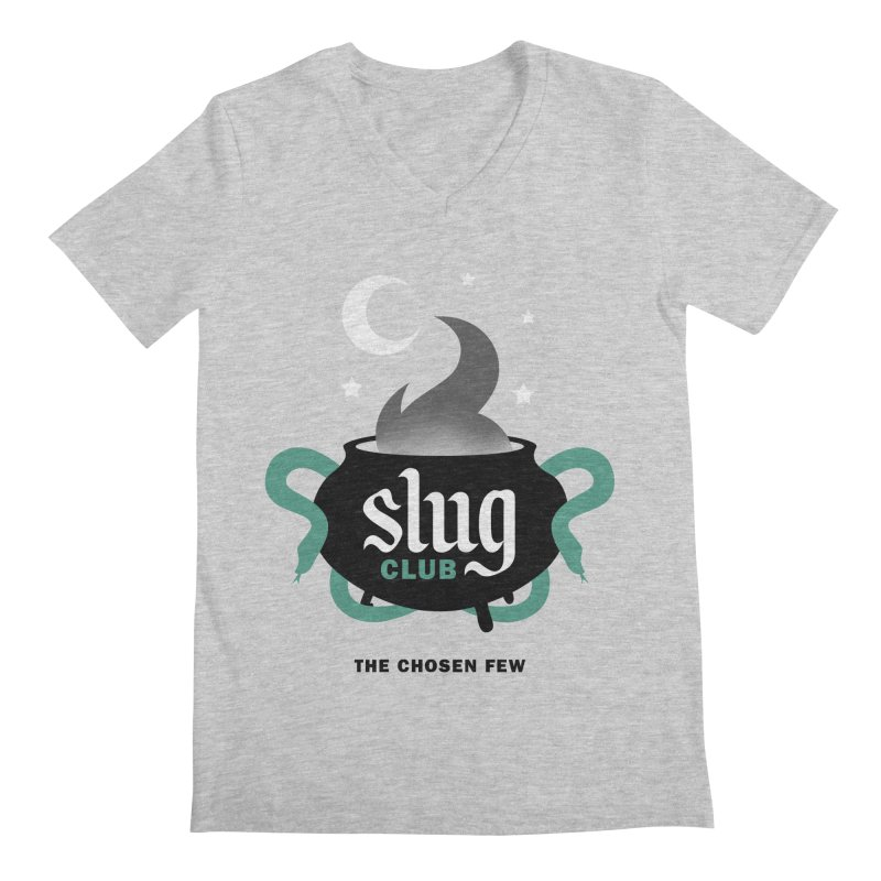 Slug Club Men's Regular V-Neck by Gurven Designs
